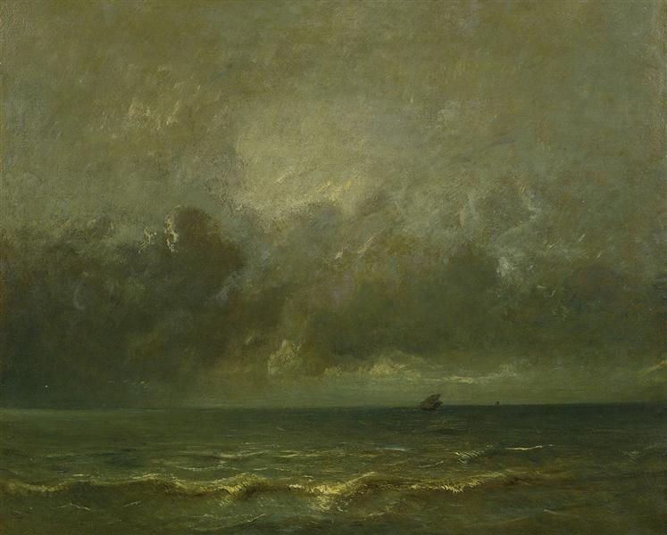 Calm before the storm - Jules Dupre