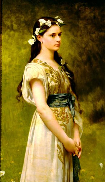 Portrait of Julia Foster Ward, 1880 - Jules-Joseph Lefebvre