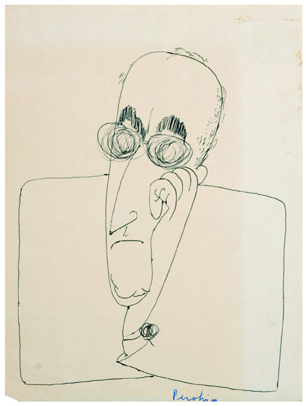 Portrait of M.H. Maxy, 1940 - Jules Perahim