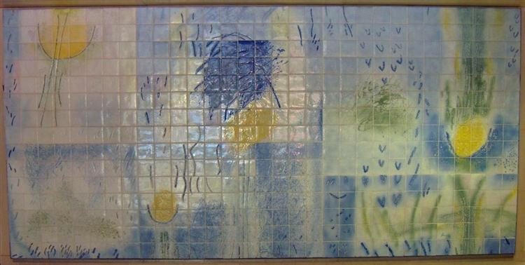 Azulejo, Portuguese Institute of Oncology, 1992 - Julio Resende