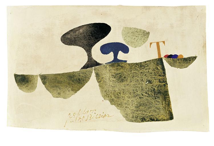 29.6.61 T, 1961 - Julius Bissier