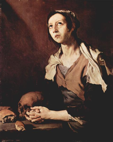 St. Mary of Egypt, 1651 - Jusepe de Ribera
