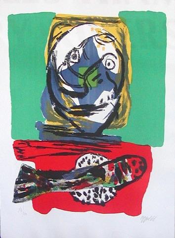 Fish, 1966 - Karel Appel