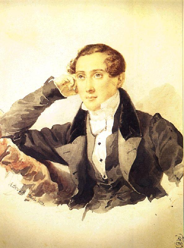 Male Portrait, 1829