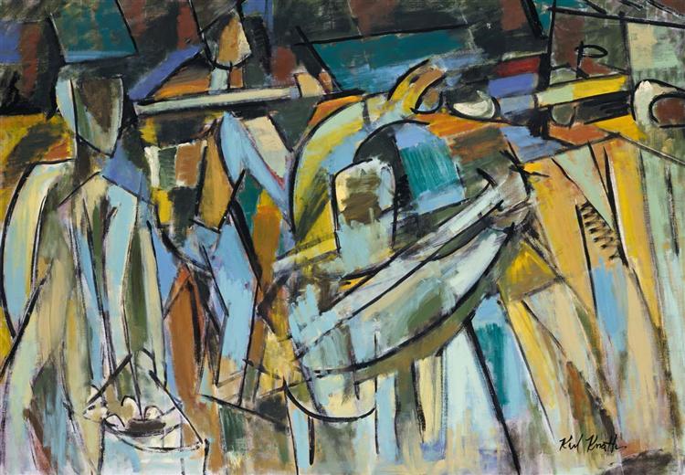 Clam Diggers, 1959 - Karl Knaths