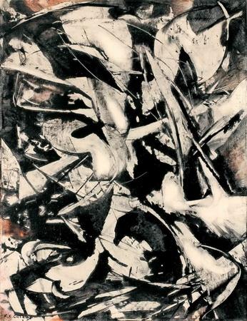 Untitled, 1954 - Karl Otto Gotz
