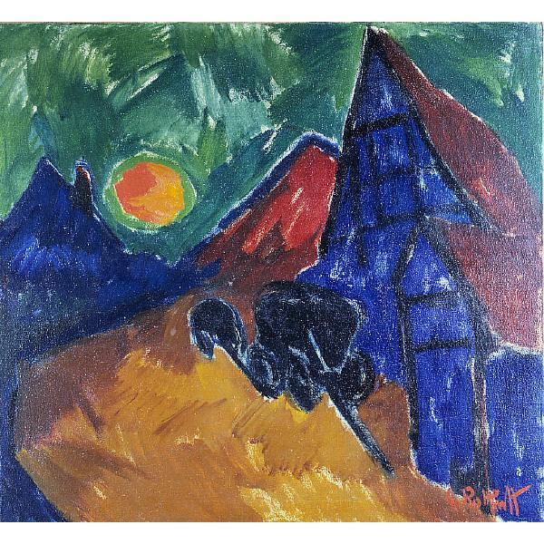 Rising Moon, 1912 - Karl Schmidt-Rottluff