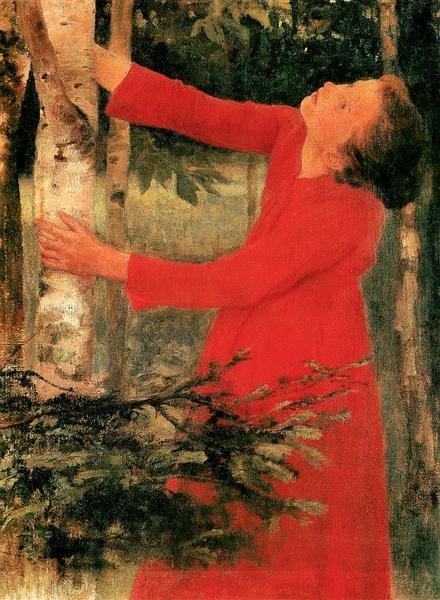 Birdsong, 1893 - Károly Ferenczy