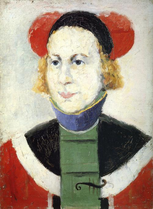 Portrait - Kazimir Malevich - WikiArt.org - encyclopedia ...