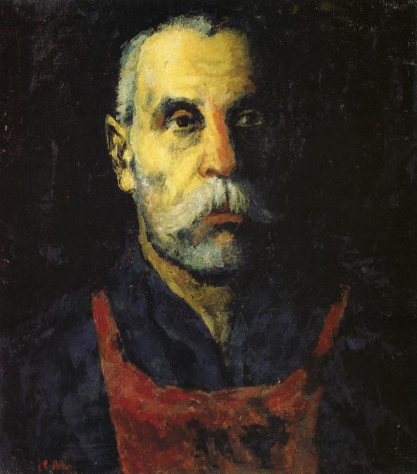 Portrait of a Man, 1930 - Kazimir Malevich - WikiArt.org