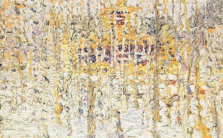 Winter Landscape, 1906 - Kazimir Malevich