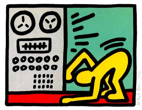 Pop Shop III, 1989 - Keith Haring