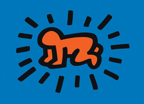 Radiant Baby (from Icons series) - Keith Haring