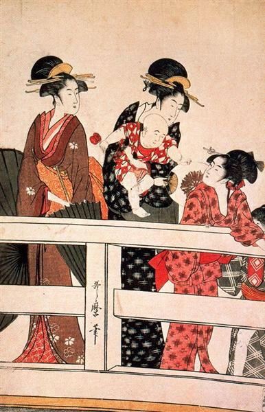 The Hour of the Horse - Kitagawa Utamaro