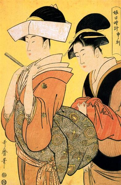 The Hour of the Ramin - Kitagawa Utamaro