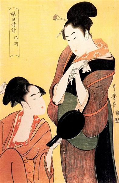The Hour of the Tiger - Kitagawa Utamaro