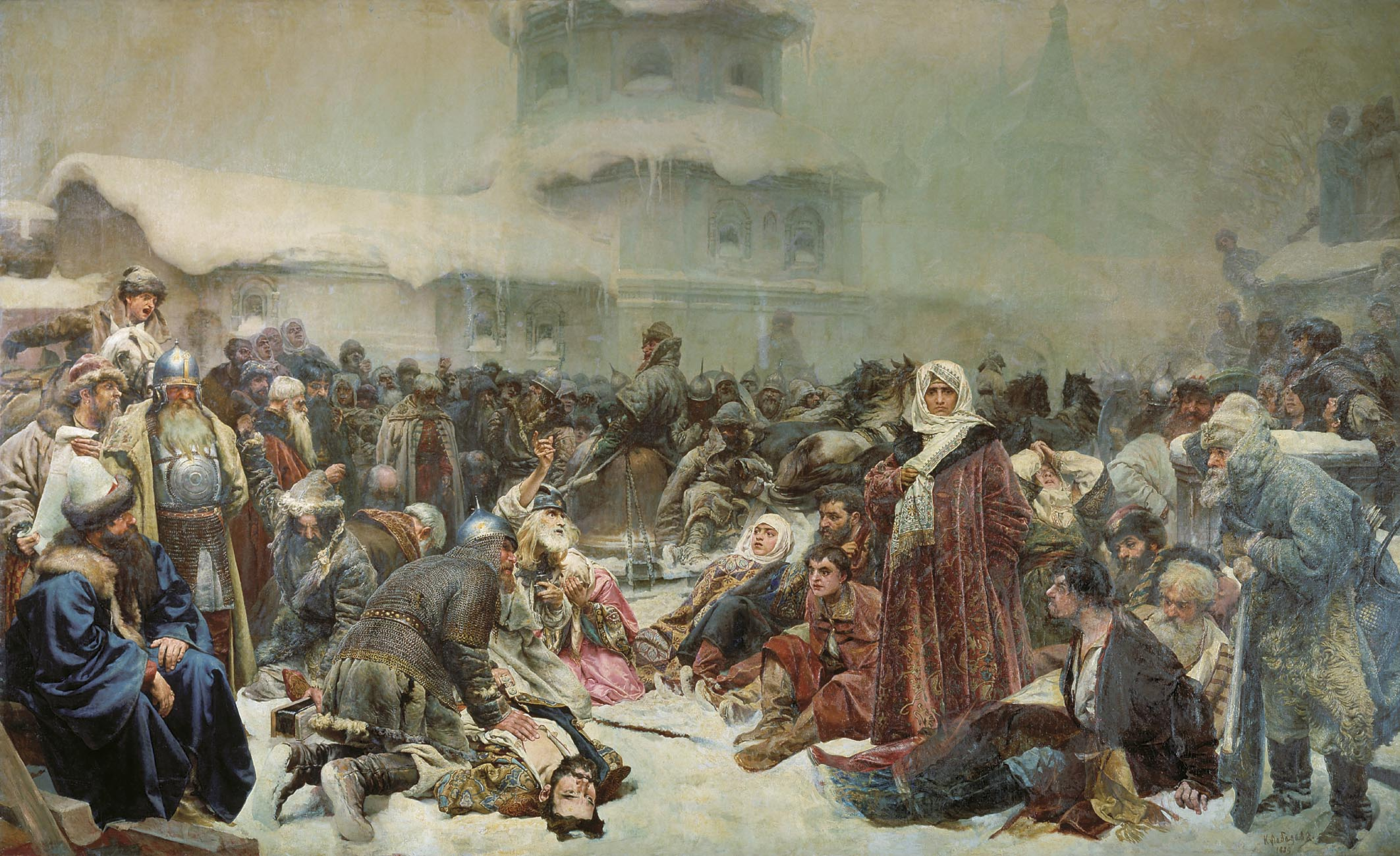 Martha the Mayoress. Destruction of Novgorod by Ivan III. - Klavdy ...