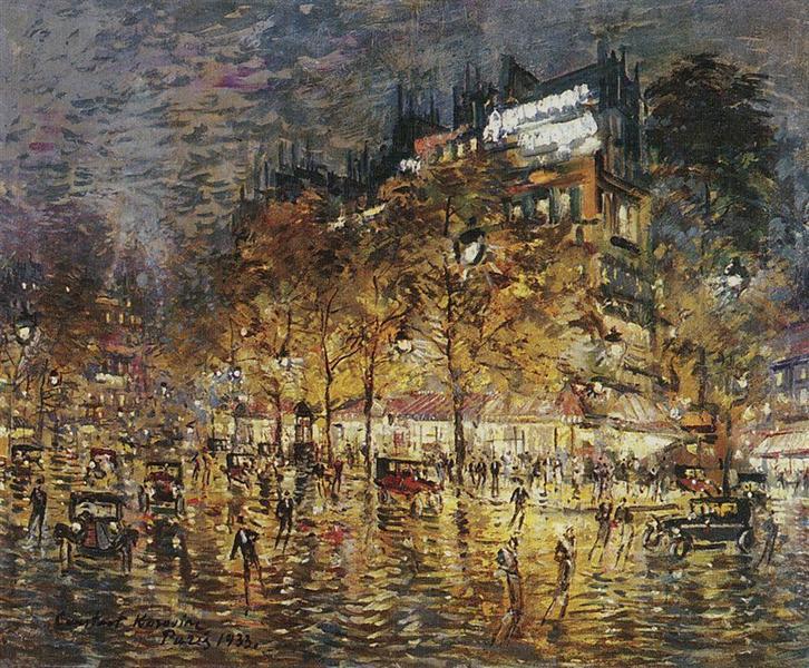 Paris - Konstantin Korovin