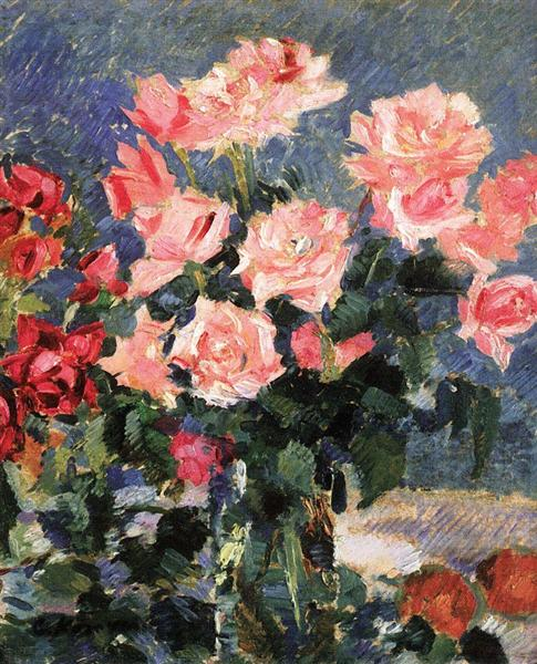 Roses, 1923 - 1939 - Konstantin Korovin