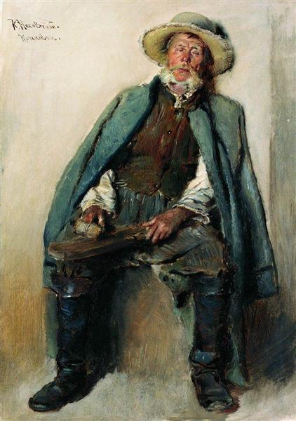 Blind Man, c.1880 - Konstantin Makovsky