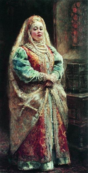 Boyarynia, c.1890 - Konstantin Makovsky
