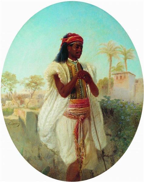 Cairene, c.1870 - Konstantin Makovsky