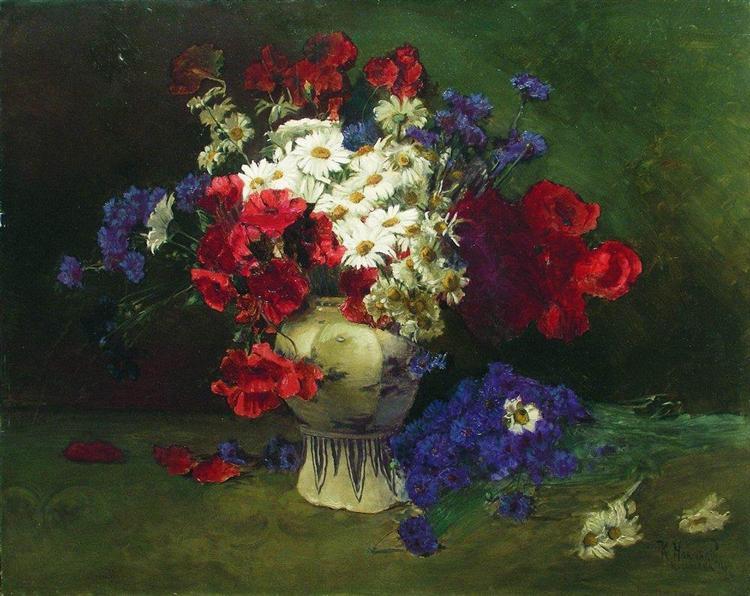 Flowers 2, 1884 - Konstantin Makovsky