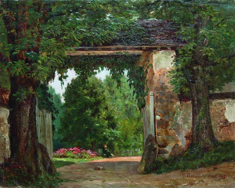 Homestead, 1882 - Konstantin Makovsky