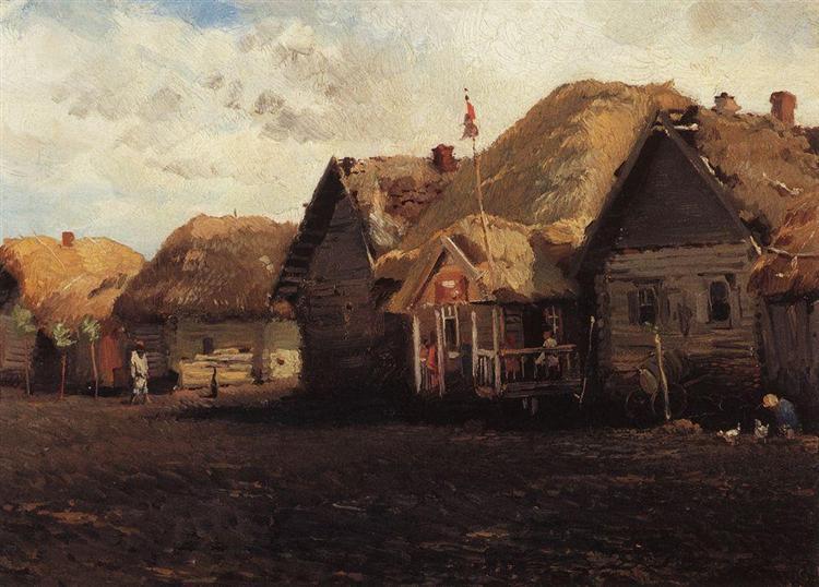 Landscape - 康斯坦丁·马科夫斯基
