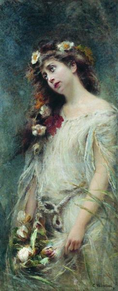 Ophelia - Konstantin Makovsky