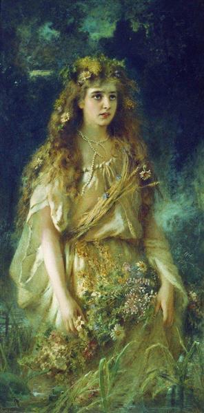 Ophelia, 1884 - Konstantin Makovsky