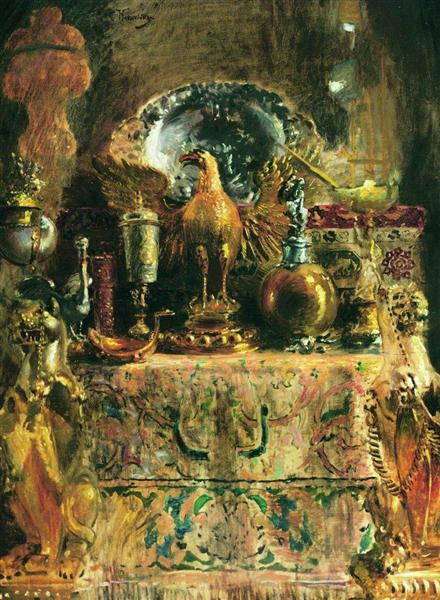Still Life (Palace of Facets), c.1890 - Konstantin Makovsky