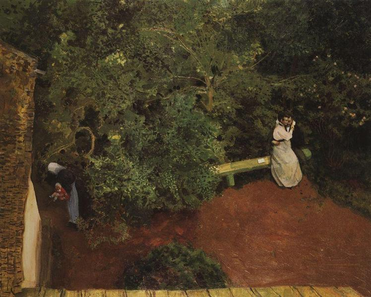 Family Happiness, 1898 - 1900 - Konstantin Somov