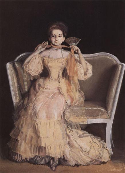Lady in Pink, 1903 - Konstantin Somov