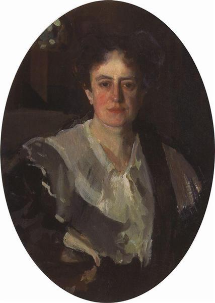 Portrait of Artist E. Zvantseva, 1903 - Konstantin Somov