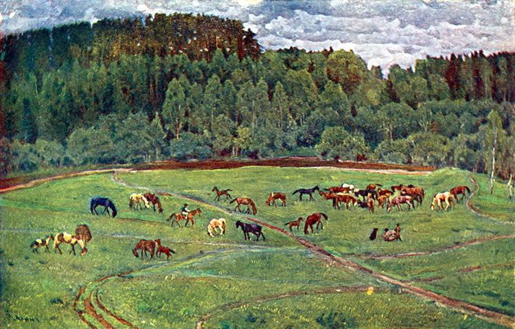 Herd - Konstantin Yuon