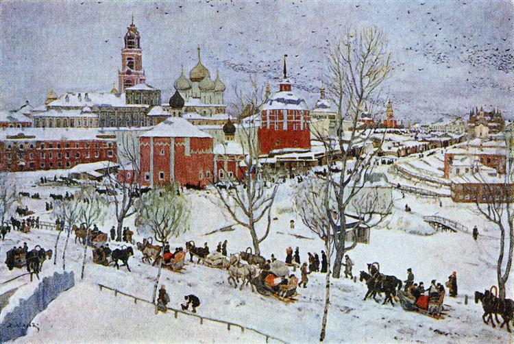 In Sergiyev Posad, 1911 - Konstantin Yuon