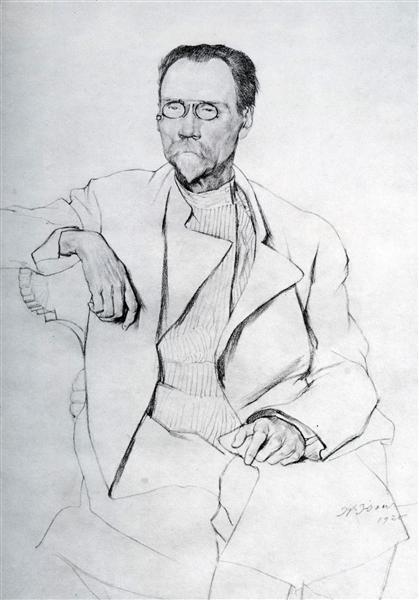 Portrait of A.A. Bakhrushin, 1920 - Constantin Youon