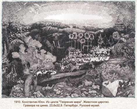 The Animal Kingdom, 1910 - Константин Юон