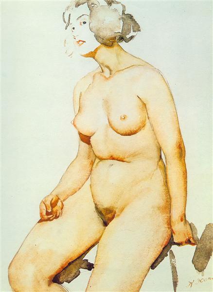 The Body, 1924 - Konstantin Yuon