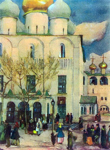 The First Easter's Day - Konstantin Yuon