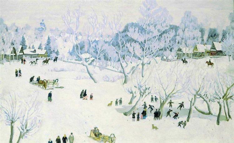 The Magic Winter. Ligachevo, 1912 - Konstantin Yuon