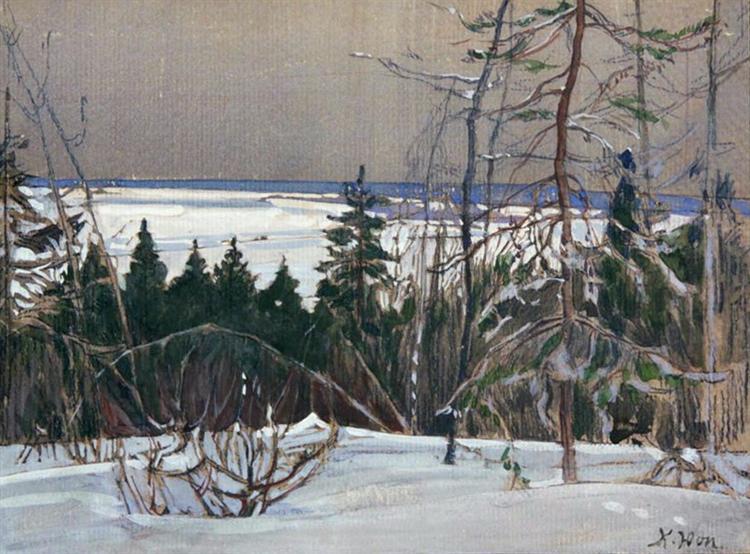 Winter Forest - Konstantin Yuon