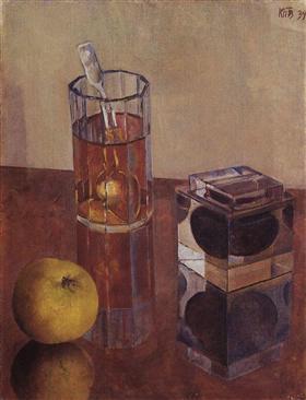 Still Life with Inkwell - Kuzma Petrov-Vodkin