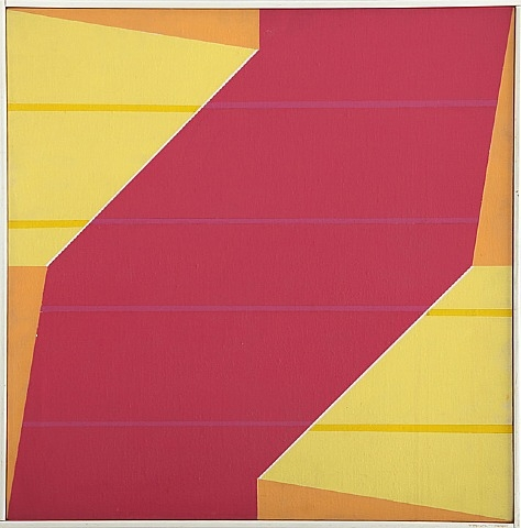 Untitled (Rotation Series), 1964 - Larry Zox