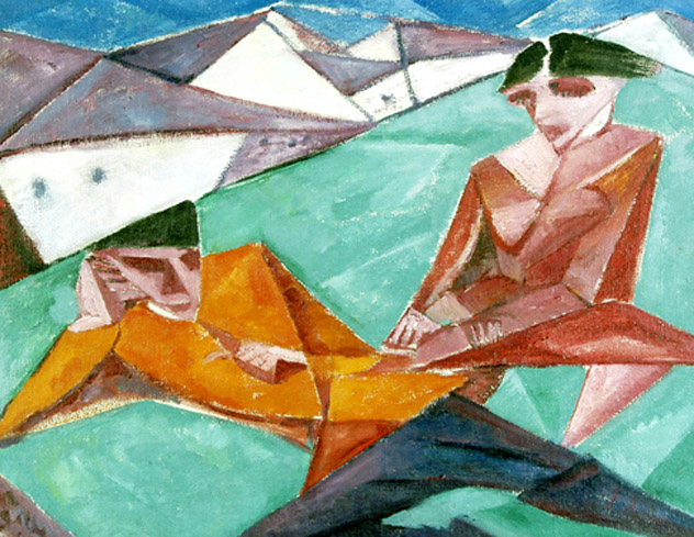 Aldeia Russa, 1918 - Lasar Segall