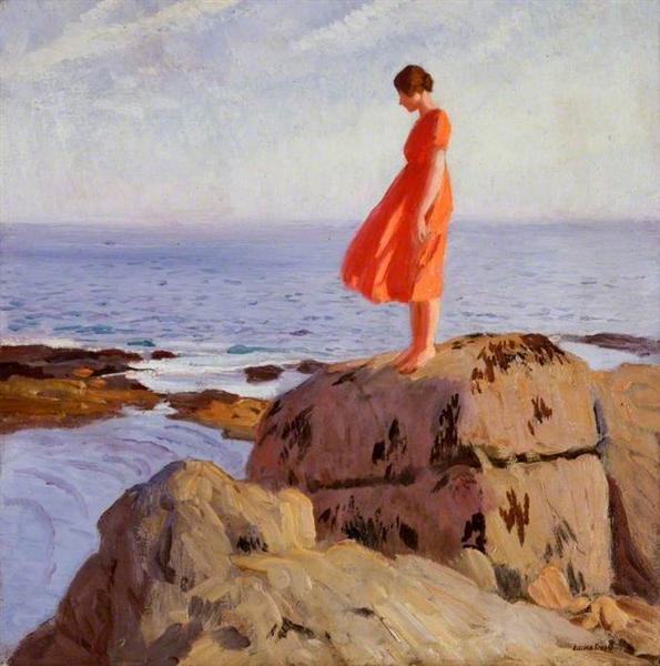 A Dark Pool, 1918 - Лаура Найт