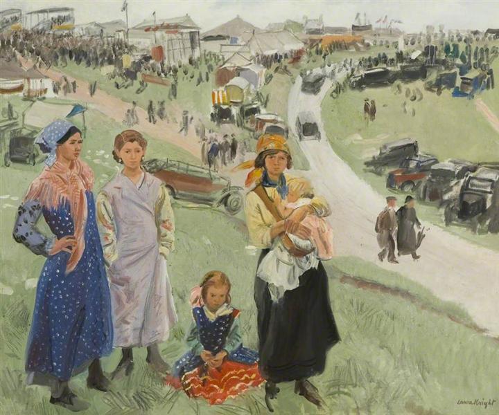 Epsom Downs, 1938 - Лаура Найт