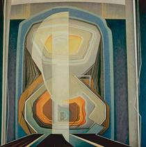 Abstract Painting #20 - Lawren Harris