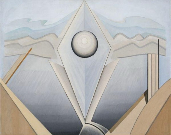 Abstract Painting #98, 1938 - Lawren Harris